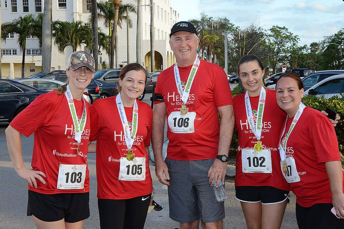 Team RSM from the Heroes 5K Run 2018