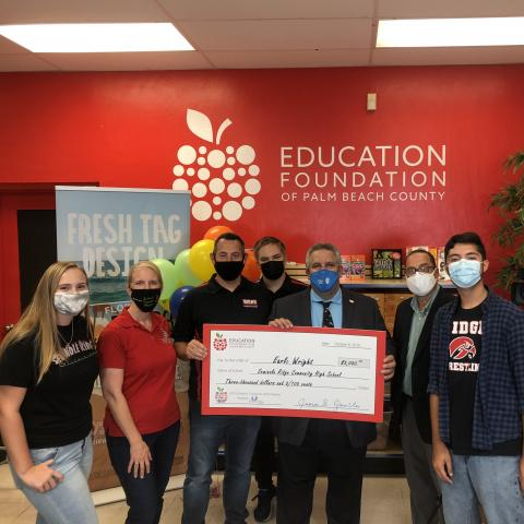 Seminole Ridge receives a GoReach grant award